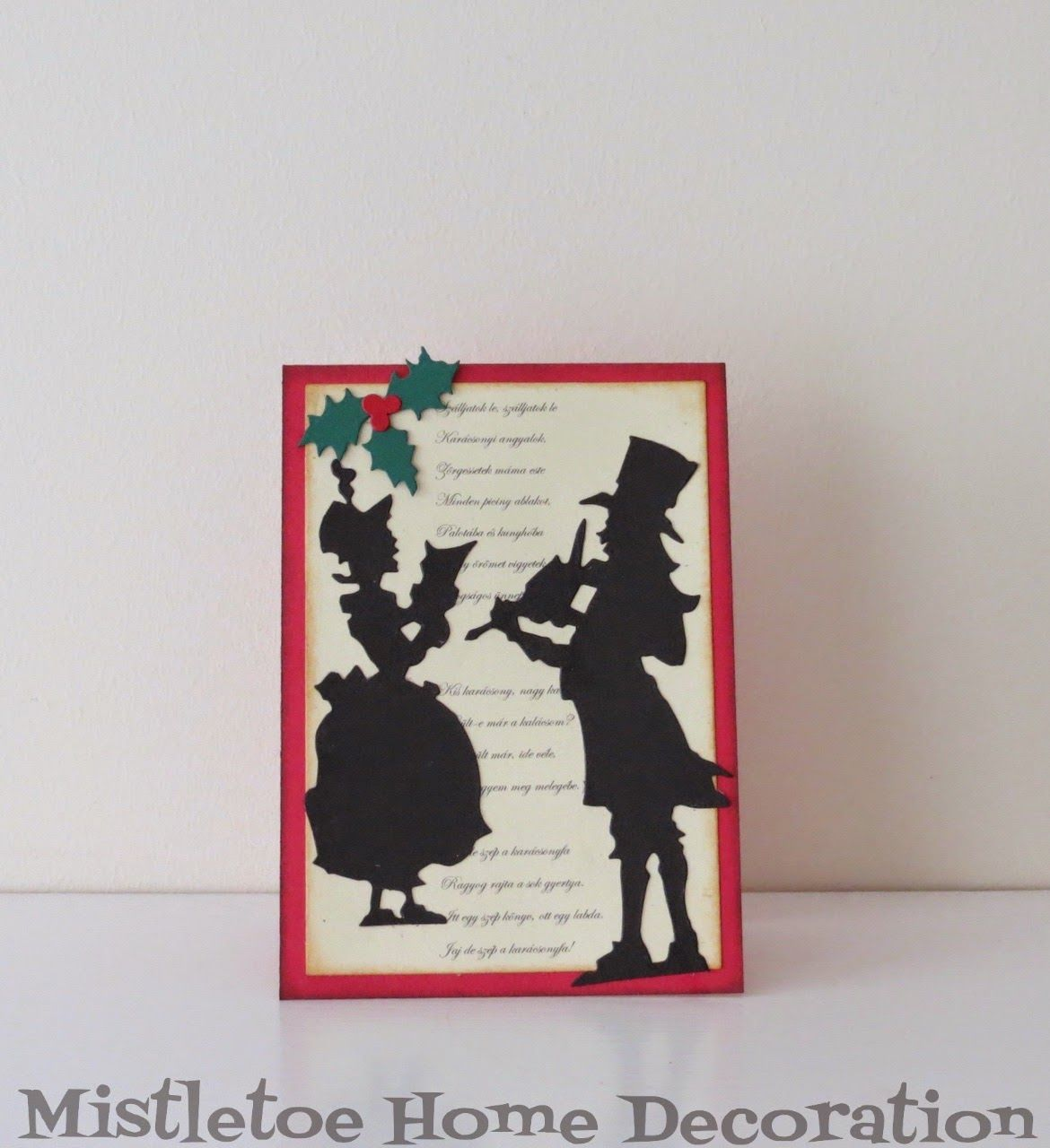 Sizzix greeting card carol singers winter christmas greeting sizzix greeting card carol singers kristyandbryce Image collections