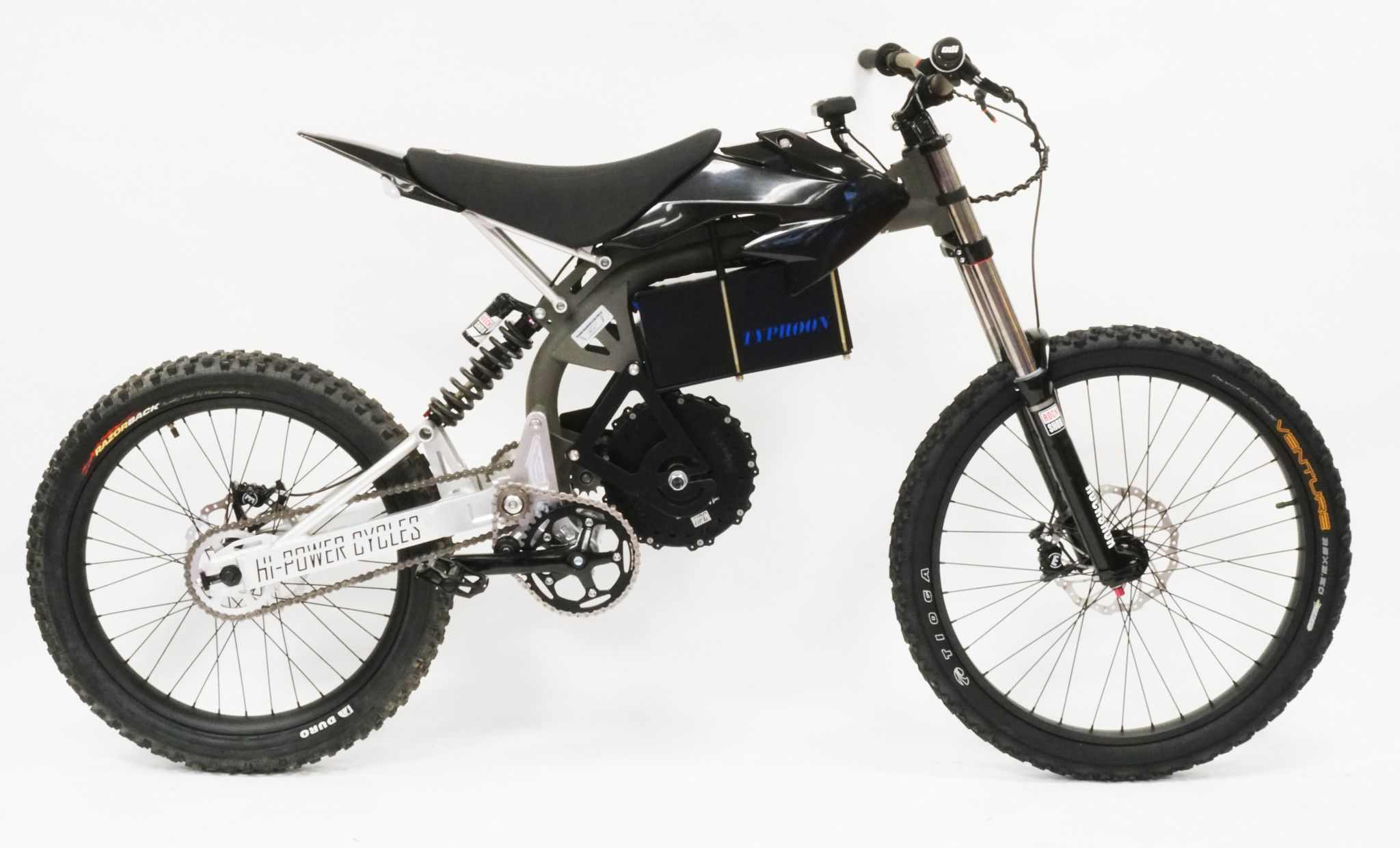 The 2017 Hpc Typhoon Is Part Electric Bike Part Dirt Bike Awesome