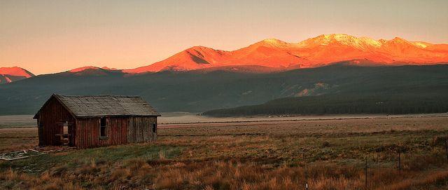 Mt. Elbert near Leadville, CO.  The highest mountain in the Rockies.