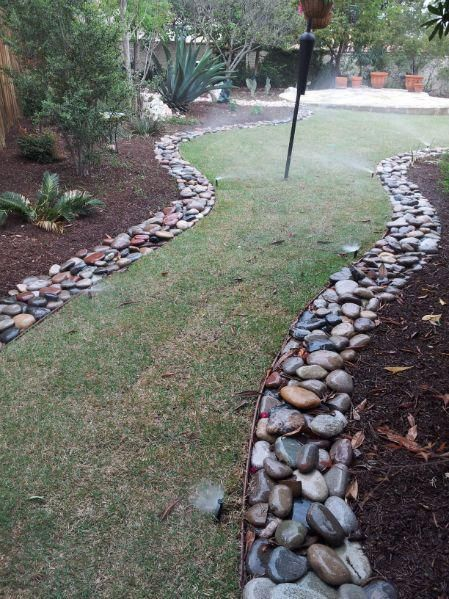The Rights and Wrongs Of River Rock | Garden Style San Antonio, Landscaping, Plants, Irrigation #riverrocklandscaping