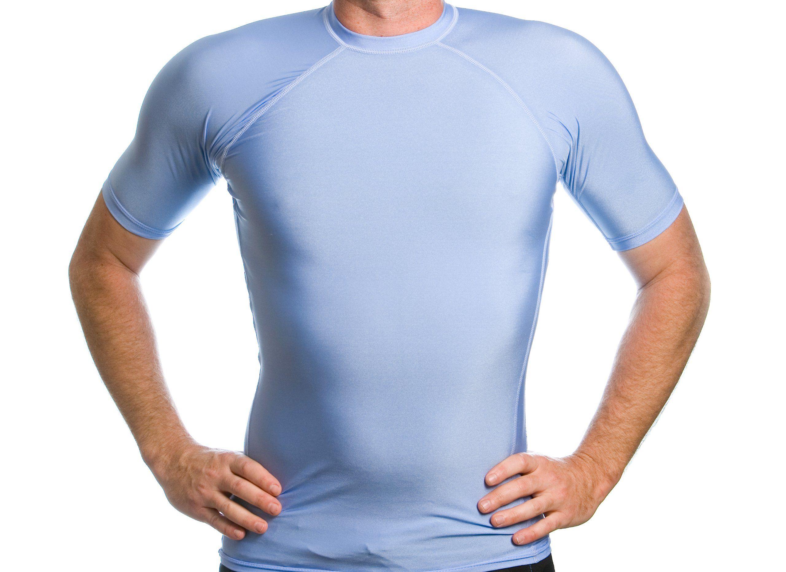 Youth Girls Short Sleeve UPF 50+ Swim Shirt Beach Depot UV Sun Protection Made in USA Kids and Toddler Swimming Tees