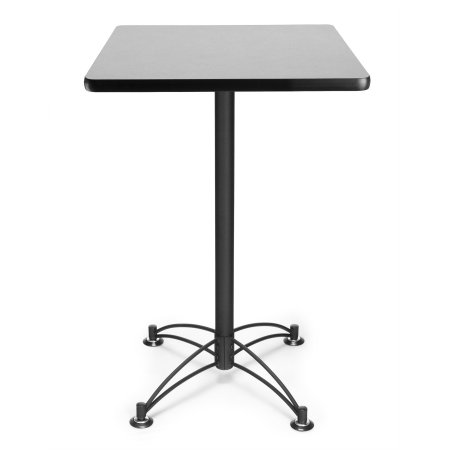 Ofm Model Cblt24sq 24 Square Cafe Height Table Gray Nebula With Black Base Walmart Com Cafe Tables Ofm Home Office Furniture 24 inch square table