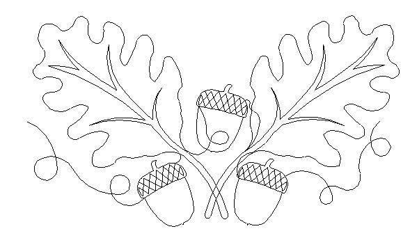 oak leaf border leaf patterns pinterest quilts oak leaves and