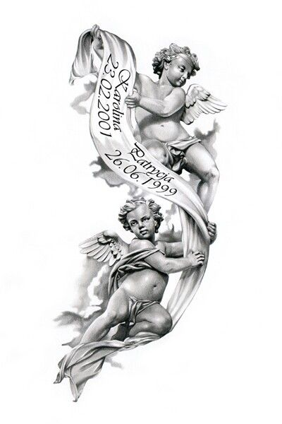 Tattoo Tatouage D Ange Tatouage Ange Image Tatouage