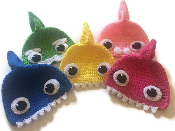 Amigurumi Crochet BABY SHARK presentation | REKIN na szydełku ... | 428x570