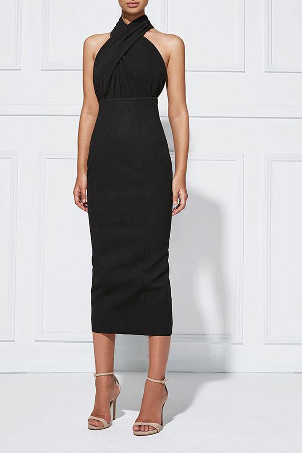 Ebony twist dresses
