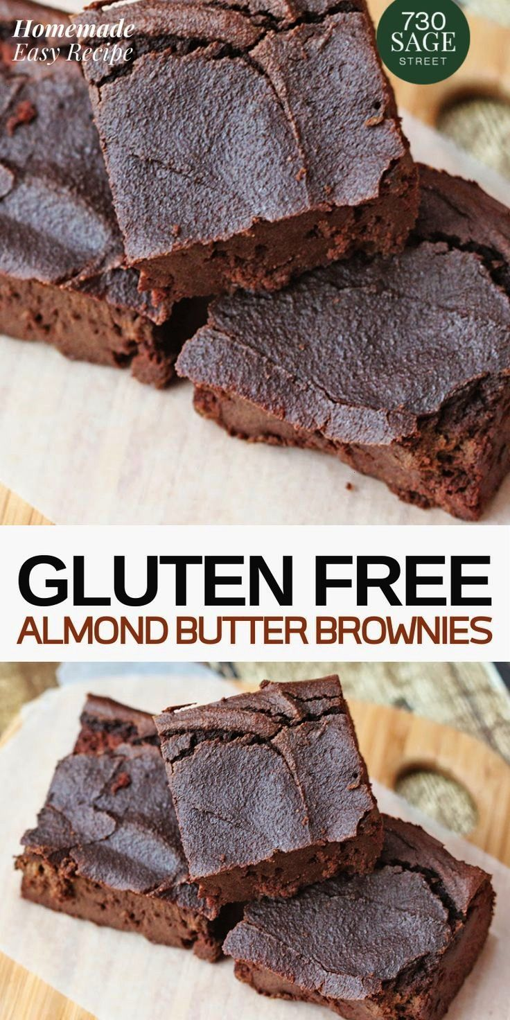 Almond Butter Brownies This Almond Butter Brownies Recipe is super easy to make!! Annd..These are g
