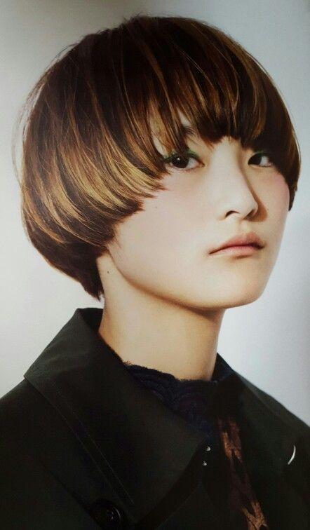 Womens Hair マッシュルーム ボブ マッシュショート 髪型