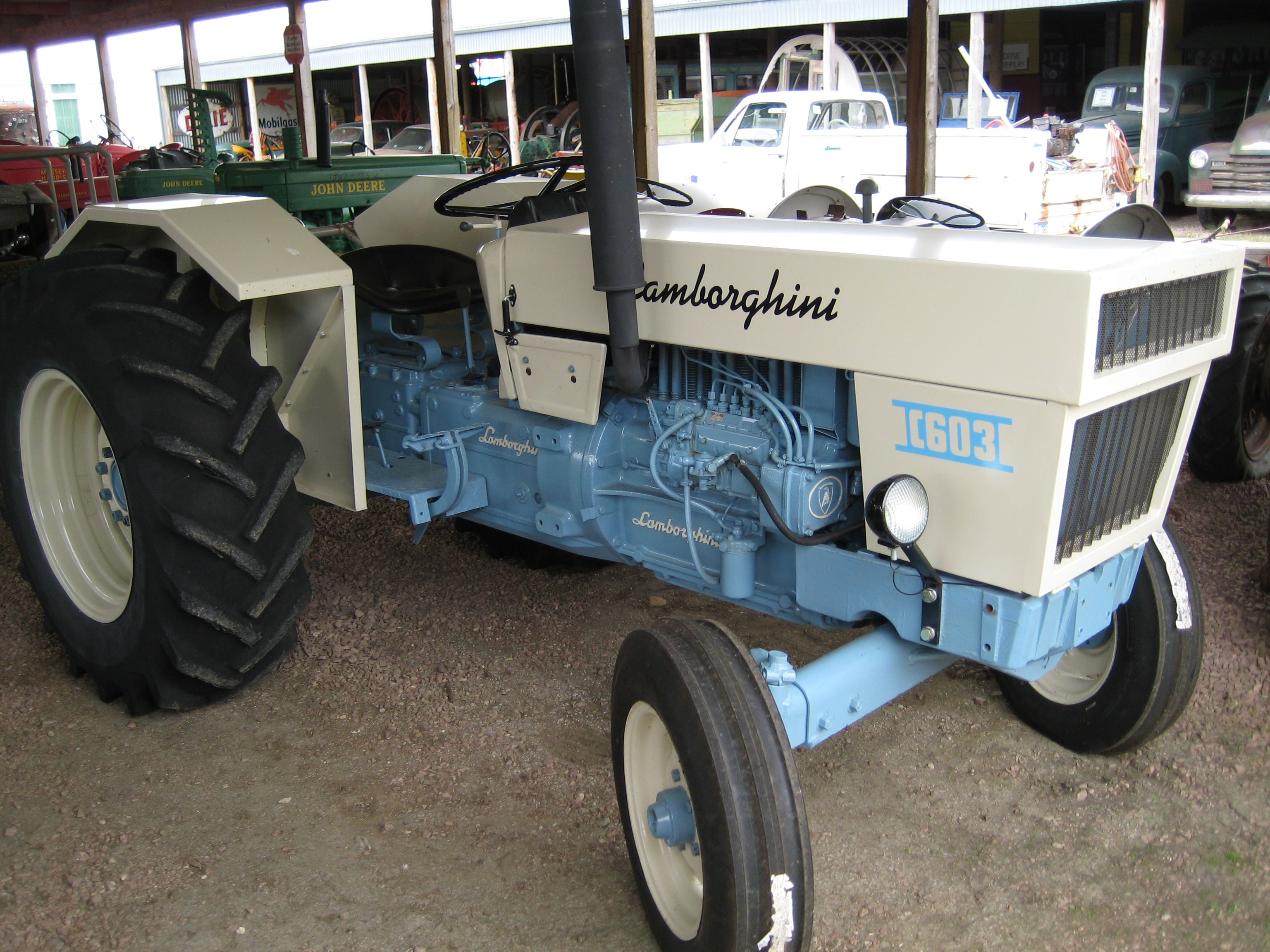 lamborghini first started out making tractors, but switched their