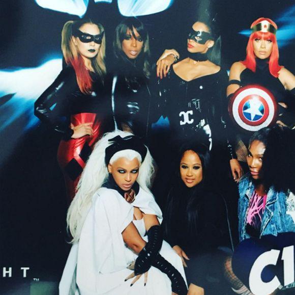Beyoncé se déguise en Tornade de X,Men