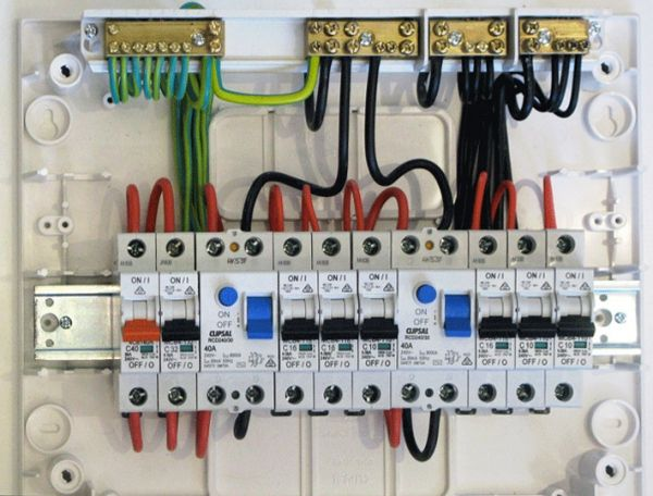 Domestic Switchboard Wiring Diagram Australia Home Wiring Diagram In 2020 Home Electrical Wiring Electrical Wiring House Wiring
