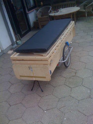 Dies Wird Mein Fahrradcamper Wohnwagen Zeltcaravan Fur Zwei