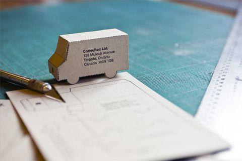 Clever Letterpress Business Moving Announcement