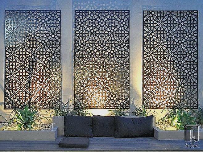 Decorative Metal Panels For Gardens Uk Beautiful