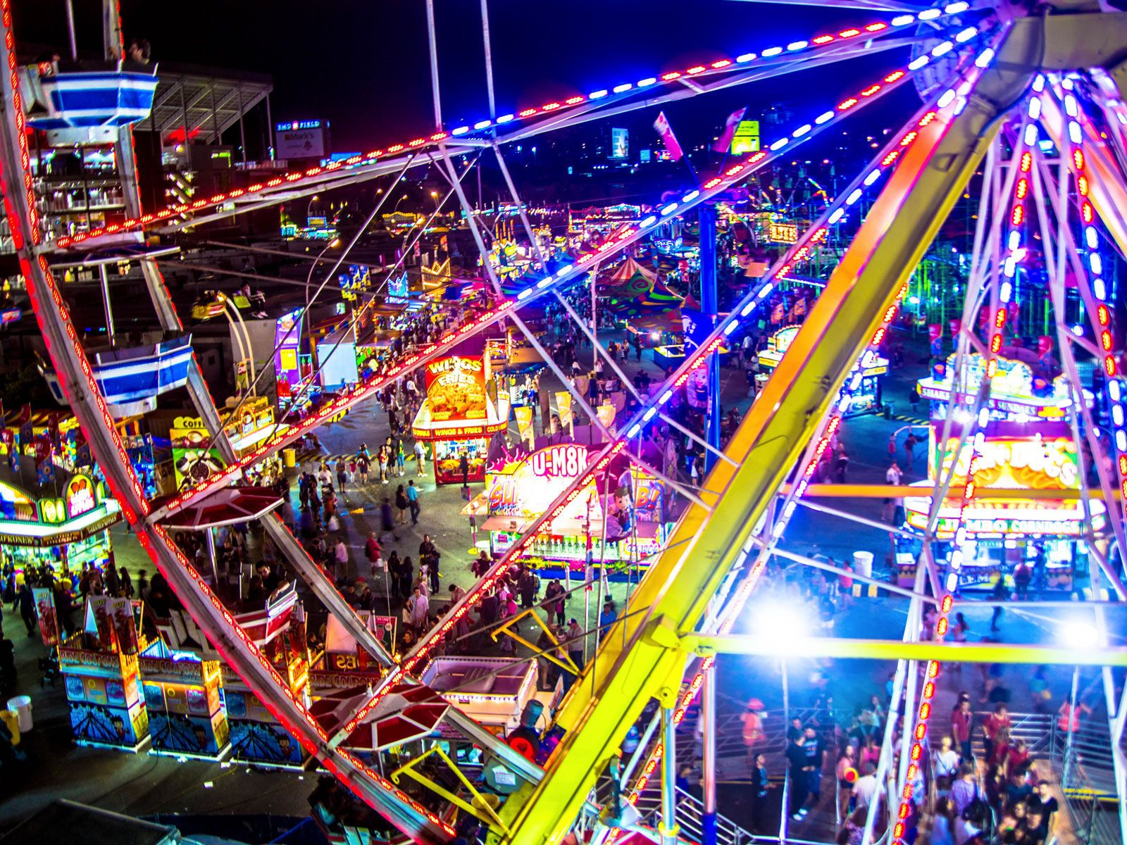 Canadian national exhibition festivals in august