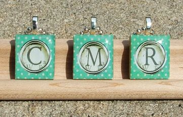 Scrabble tile resin pendant typewriter keys and scrabble tiles scrabble tile resin pendant mozeypictures Images