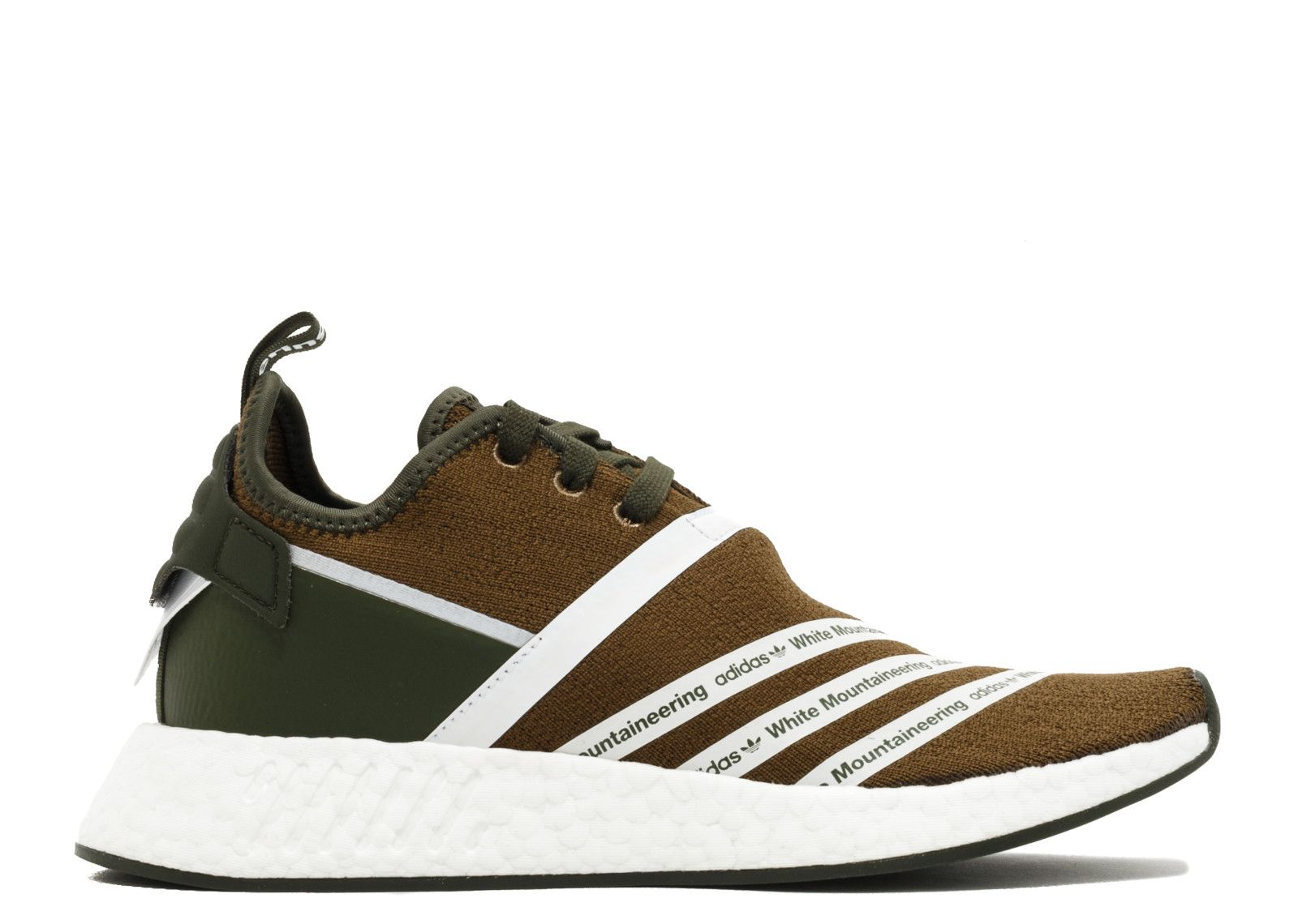 ffa66b9490a55 2017-2018 New Arrival WM NMD R2 PK WHITE MOUNTAINEERING trace olive white  white cg3649