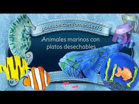 Maquetas Sobre El Mundo Marino Buscar Con Google Animales Marinos Animales Mundo Marino