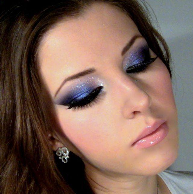 Welches Make Up Bei Blauem Kleid Hylenmaddawardscom