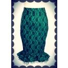 Envy Lace Fishtail Skirt - $169.00