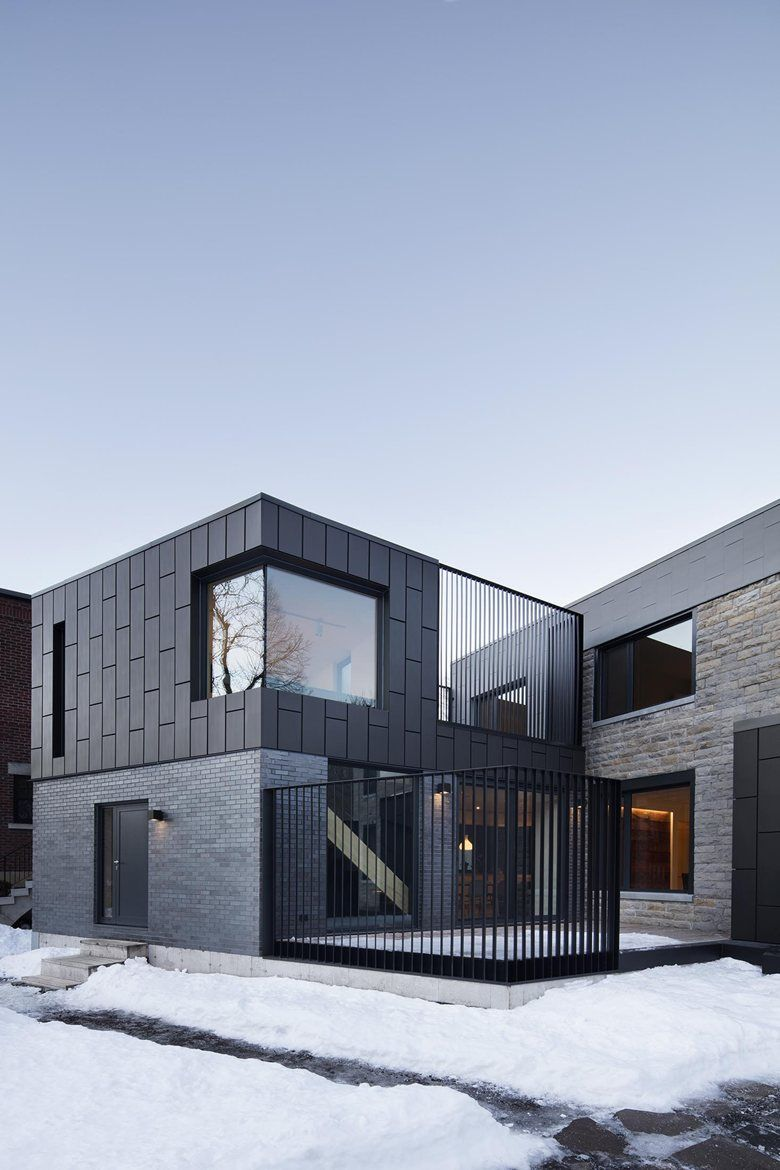 R sidence mcculloch by naturehumaine architecture design for Architecture zinc
