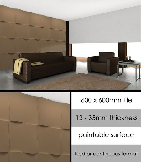 UK Supplier Of Wall Panels Producing Designer Feature Walls Which Are Ideal For Light Effects Supplied As Sculptured Tiles