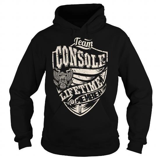 Team CONSOLE Lifetime Member Eagle T Shirts, Hoodies. Check price ==► https://www.sunfrog.com/Names/Last-Name-Surname-Tshirts--Team-CONSOLE-Lifetime-Member-Eagle-Black-Hoodie.html?41382