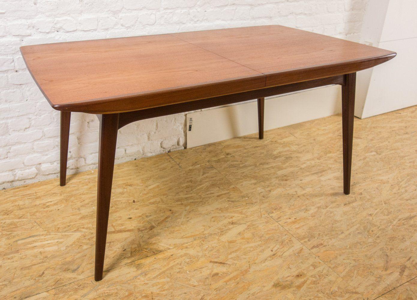 For Sale Teak Table By Louis Van Teeffelen Teak Table Dining Table Table