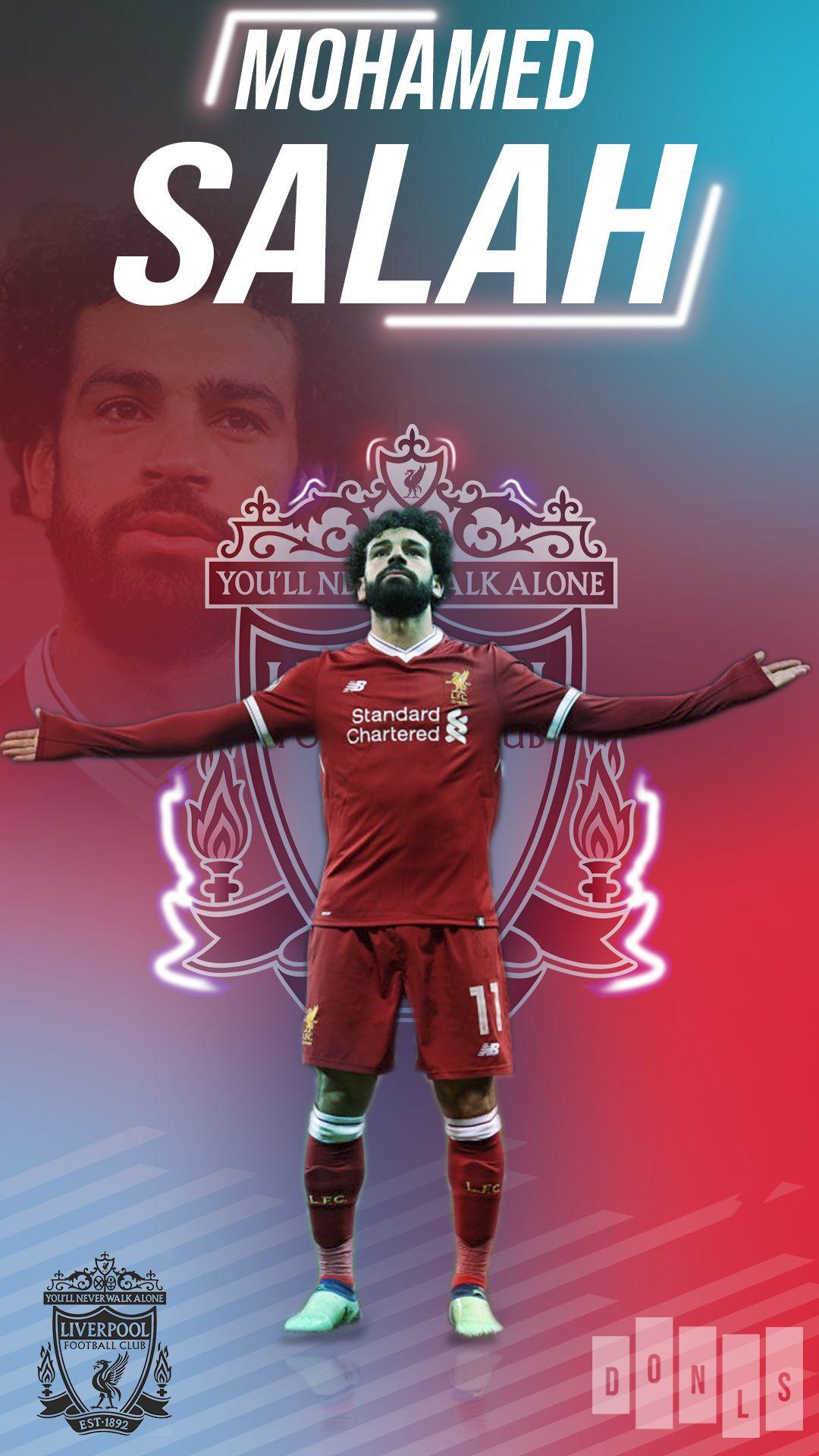 Pin By Foo Ii On Sports Wallpapers Salah Liverpool Mohamed Salah Liverpool Football