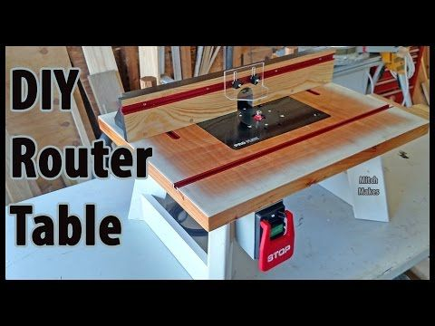 build a benchtop router table diy youtube woodworking