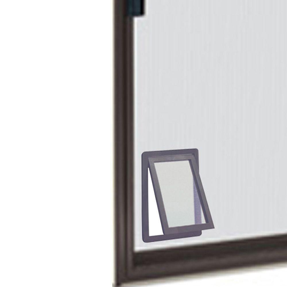 Ideal Pet 8 875 In X 10 5 In Medium Screen Fit Dog And Pet Door For Screen Door Sfpd Pet Door Screen Door Magnetic Screen Door