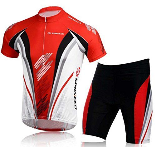 Bicycle JerseySponeed Mens Bicycling Jersey Bike Cloth Suits Cycle Shorts  XL US Red     Read more at the image link. (Note Amazon affiliate link)    ... 3b2079ab4