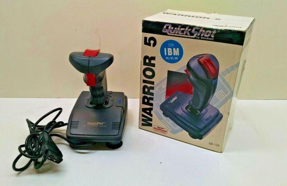 QuickShot Warrior 5 QS-123 Deluxe Analog Joystick for PC