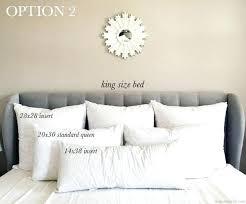 King Bed Pillow Arrangement Master Bedrooms