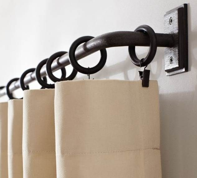 Wrought Iron Curtain Rods Canada Pottery Barn Curtains