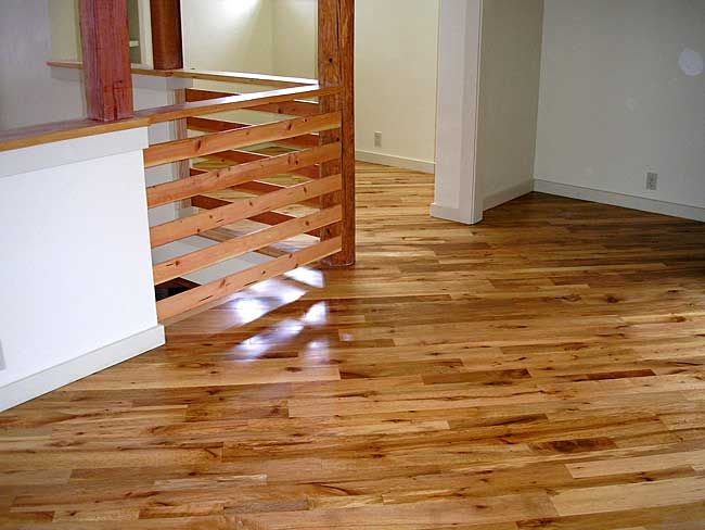 Wood Floor Laid On Diagonal Tan Oak Flooring Installed Diagonally