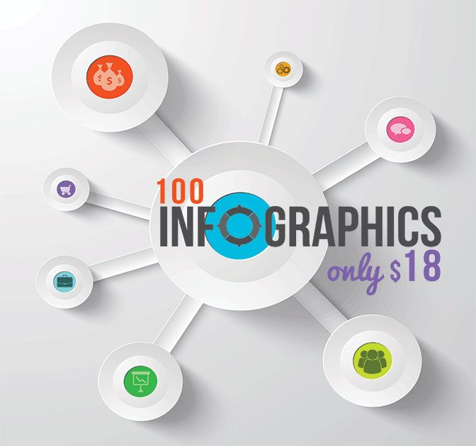 Free Download Retro Business Card Psd  Infographics Brochure