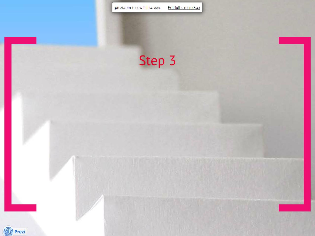 climbing steps dramatic prezi