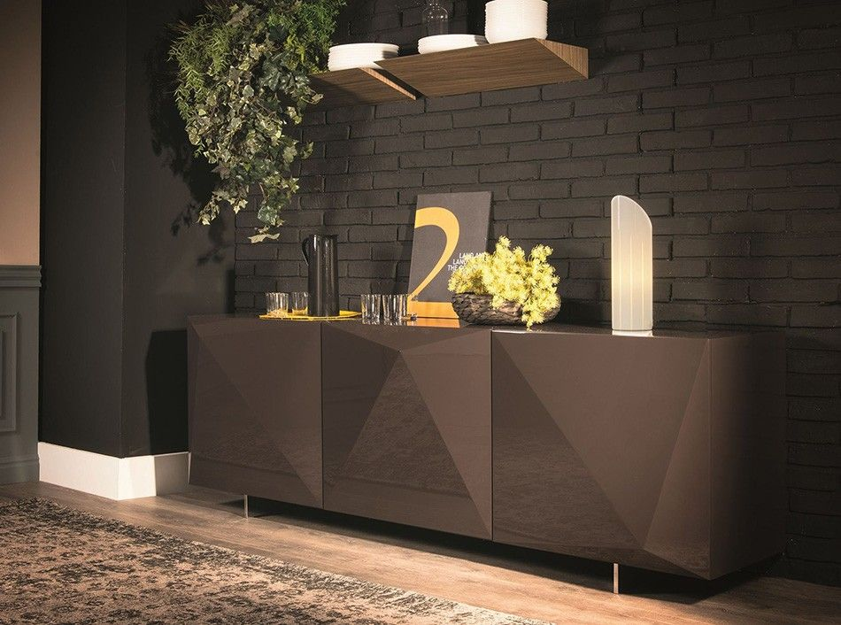 APARADOR BUFETERA Credenzas Pinterest Contemporary Tv - 20 modern credenzas with contemporary flair