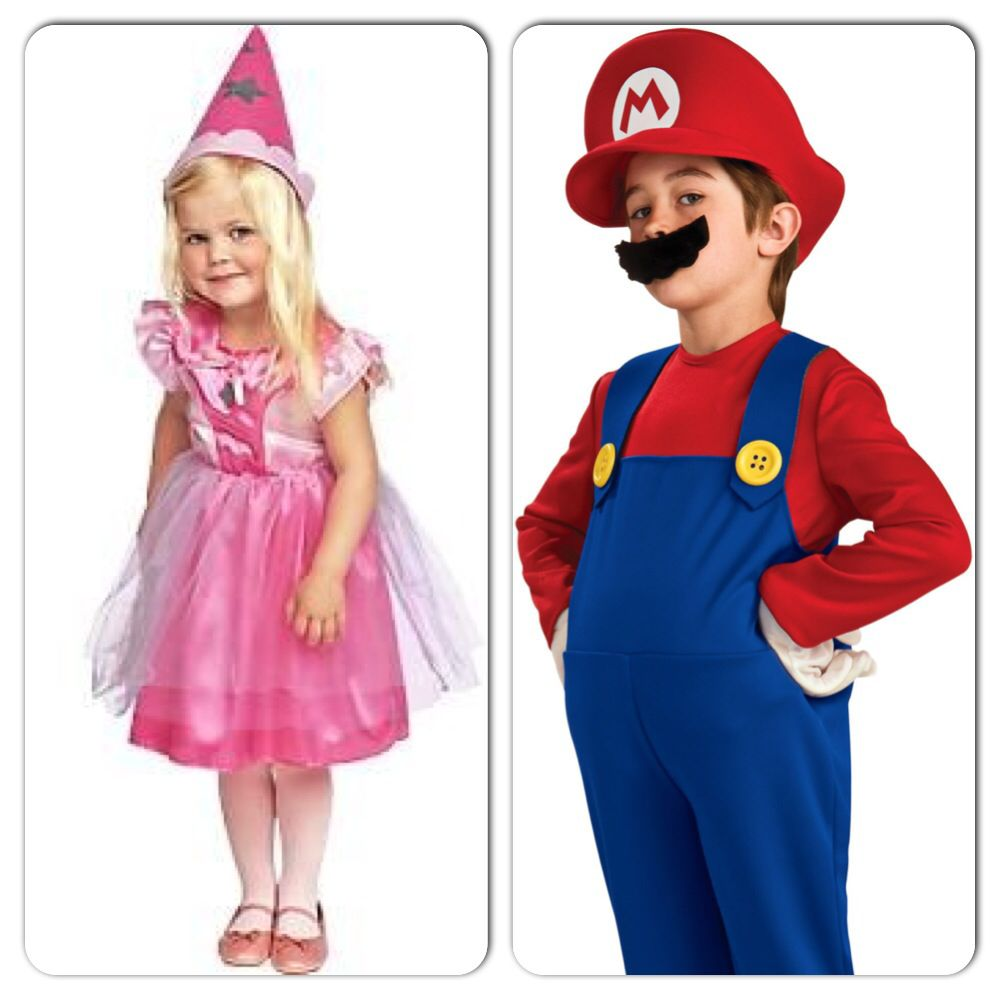 Mario/Princess Peach Brother/sister costume idea.  sc 1 st  Pinterest & Mario/Princess Peach Brother/sister costume idea. | Costume Stuff ...