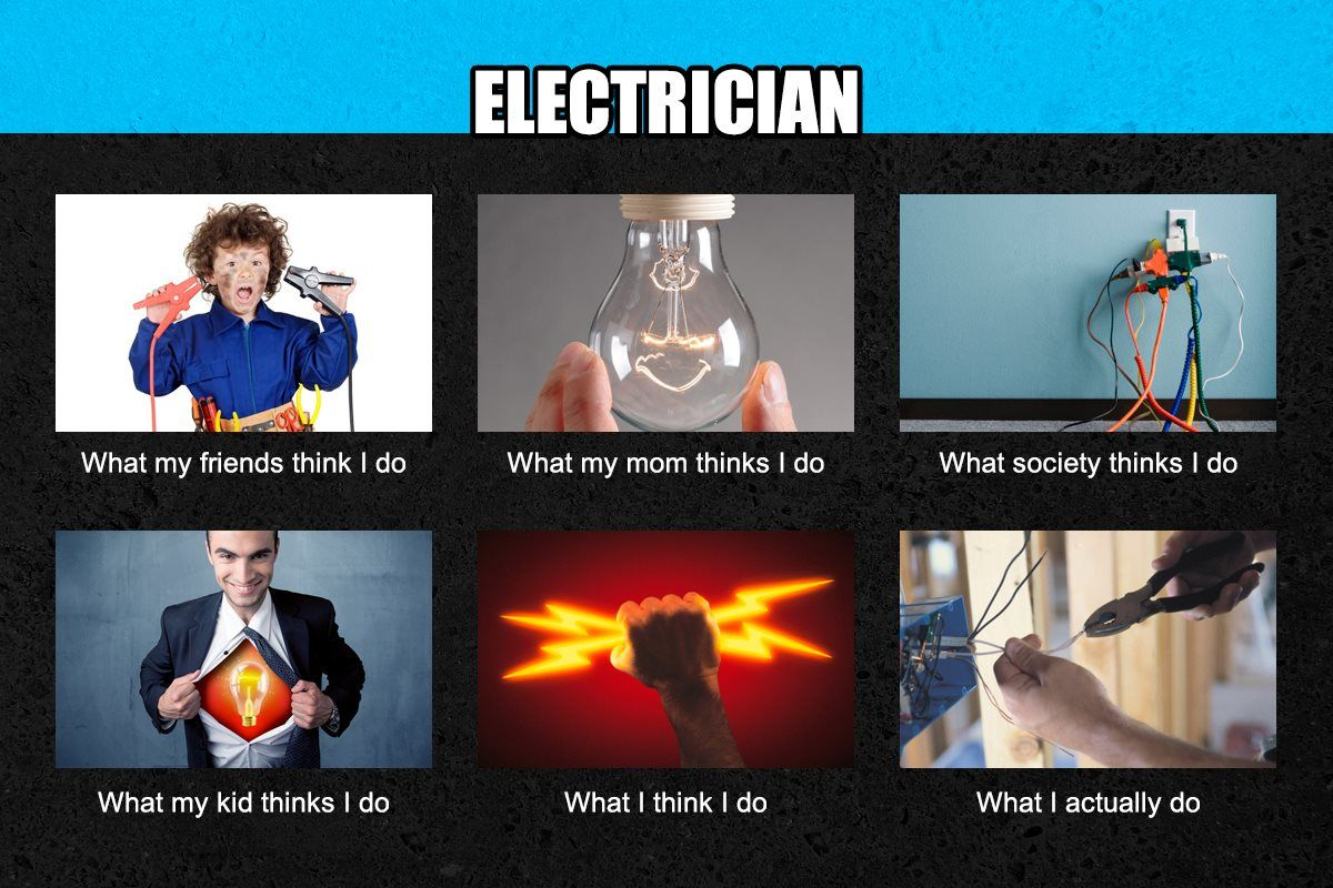 jokes about electricians