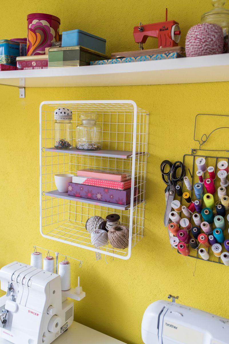 Diy ikea sewing table  DIY  Wandregal kleiner IkeaHack  Repurposing Upcycling and