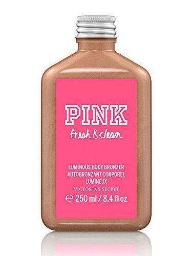 Victoria's Secret Pink Fresh and Clean Luminous Body Bronzer 8.4 Oz Victoria's Secret http://www.amazon.com/dp/B00CTCH7SU/ref=cm_sw_r_pi_dp_csrfxb084M239
