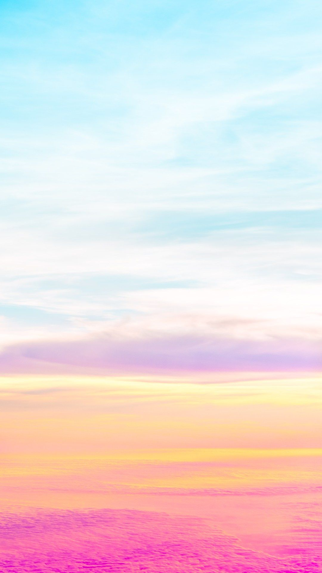 Beautiful Pastel Sky iPhone 6 wallpaper 夏 壁紙