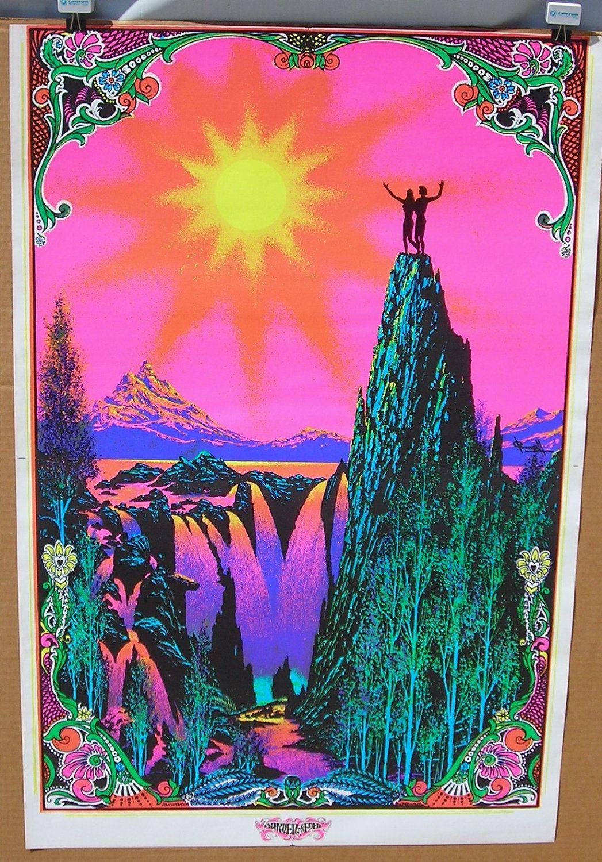 70 S Black Light Poster Quot Garden Of Eden Quot Time Machine
