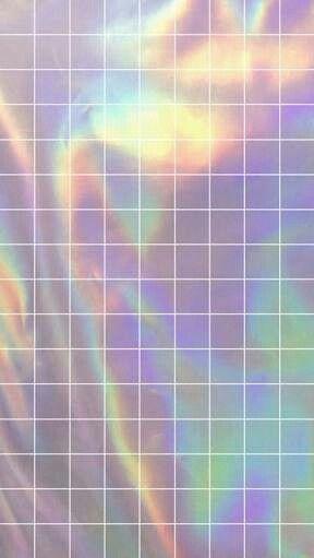 Holographic Wallpaper Papel De Parede Holografico Tumblr