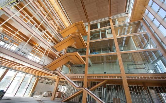 Beautiful! UBC Centre for Interactive Research on Sustainability (CIRS). Architects: Perkins+Will Canada
