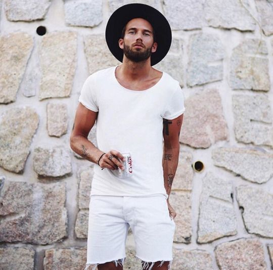 all white outfit for men