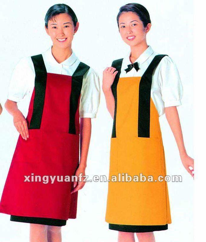 Restaurant Wait Staff Uniform Apron Uniform  d0b0165a1
