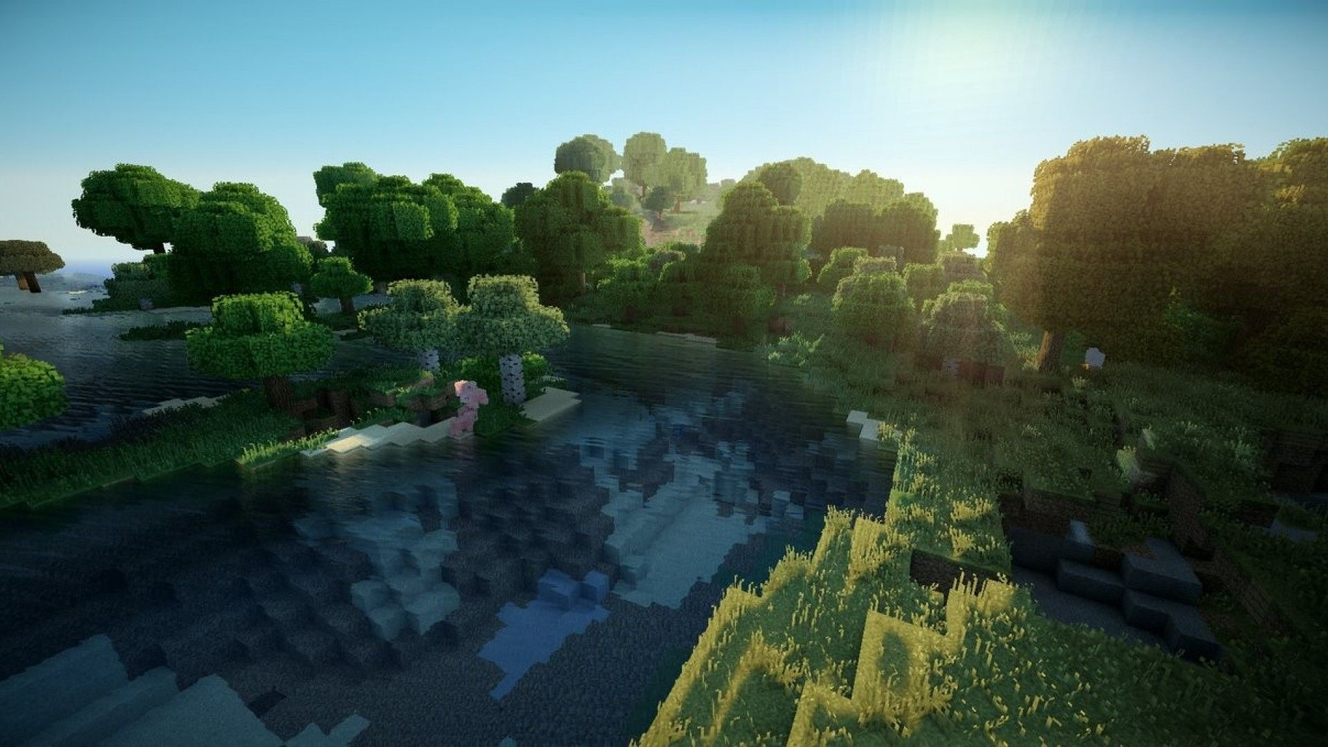 Minecraft Iphone Wallpapers Hd